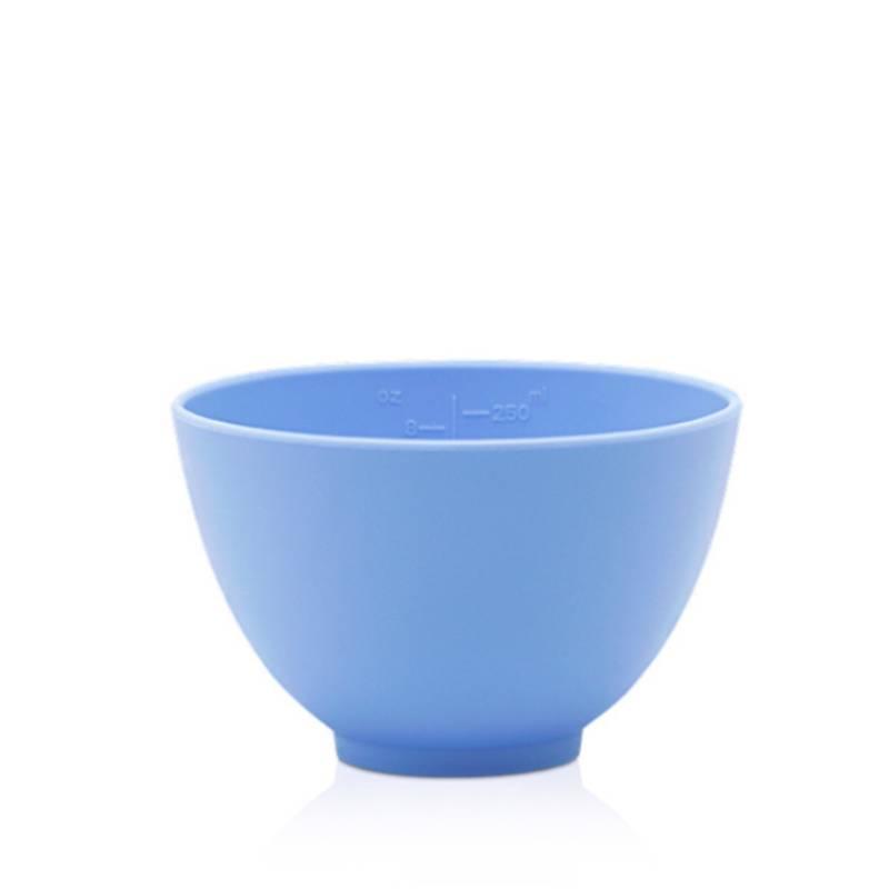 blue silicone facial mask bowl small 100ml 1