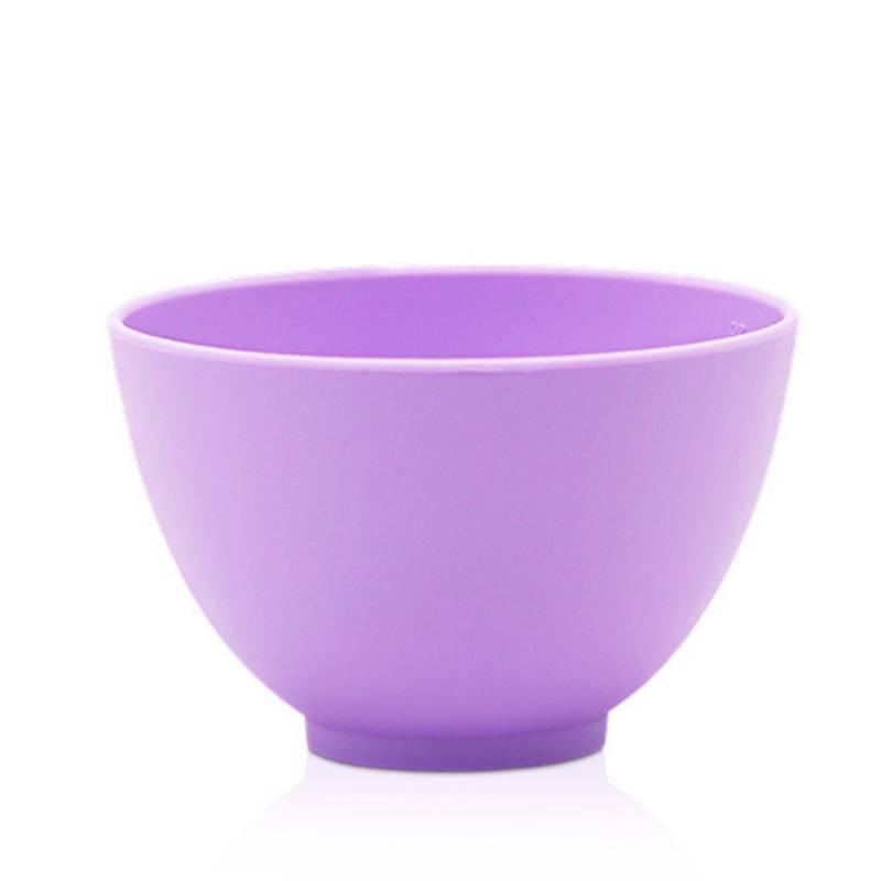 purple silicone facial mask bowl large 450ml 2